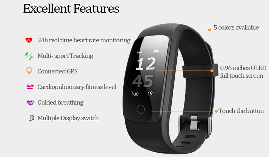 heart rate monitor fitness tracker 1