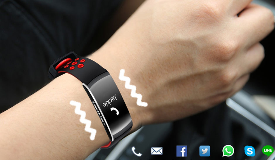 heart rate monitor smart bracelet fitness tracker 3